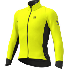 Alé Cycling Clima Protection 2.0 Wind Race Giacca Uomo, fluo yellow